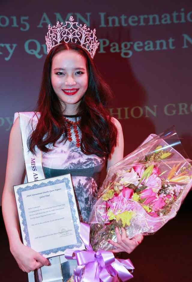 珠宝女王 华裔名模黎伟珊获珠宝女王纽约总决赛公主组桂冠