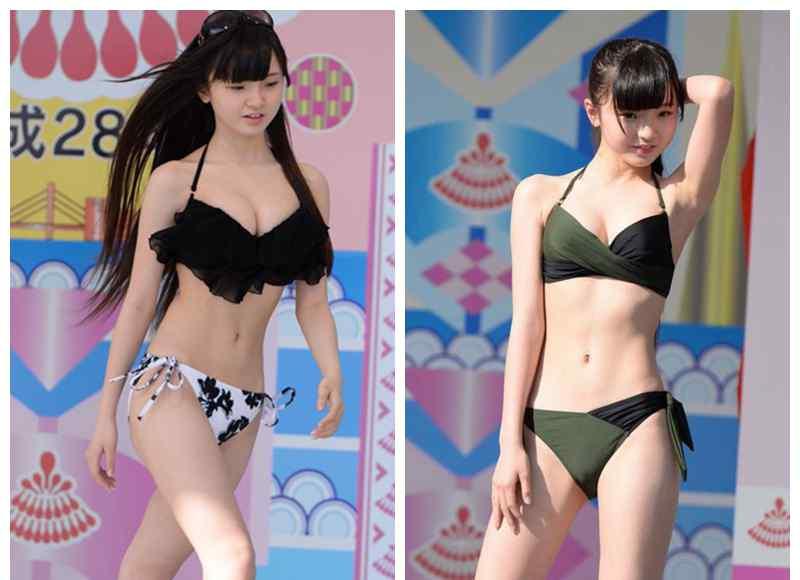 日本小学生女团 记得日本小学生女团吗?她们又来泳衣秀