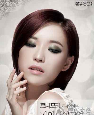 韩国烟熏妆 韩国大热4款性感抢镜烟熏妆