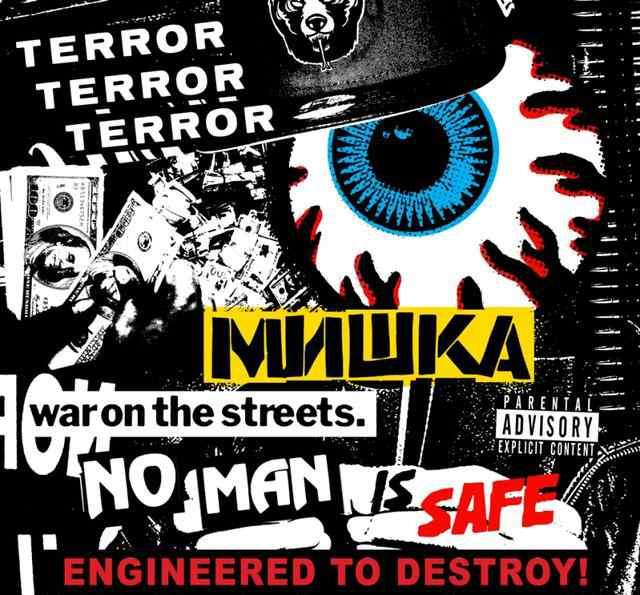 terrors MISHKA#STREET TERRORS#上海时装周