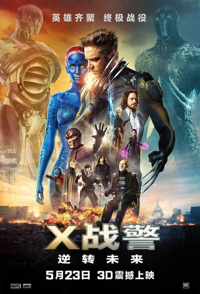 x战警系列 《X战警》系列电影 剧情全解析