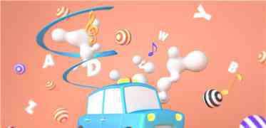 小汽车 彩色的小汽车睡前故事