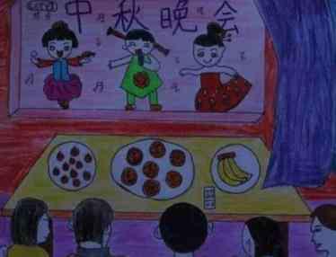 幼儿园画画图片大全 幼儿园中秋节主题画怎么画