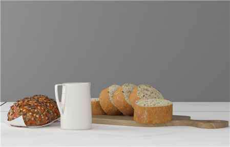 烤面包的做法 家用微波炉能烤面包吗 微波炉做面包的简单方法