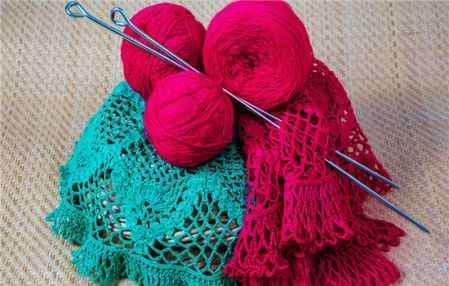 围巾的各种织法 正针围巾的织法 长款围巾怎么系