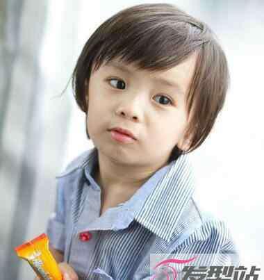 韩式发型图解 小男孩帅气短发发型 韩式短发小正太必备