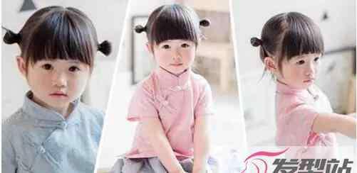 简单的发型扎法 儿童短发发型扎法步骤 超简单又萌又可爱