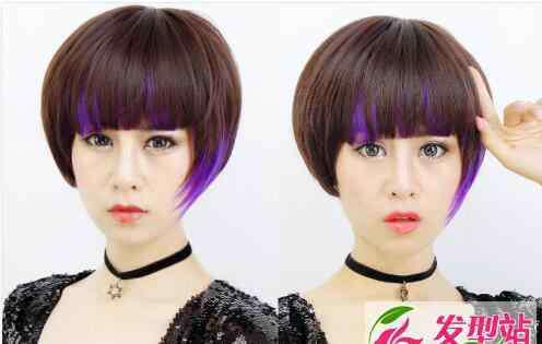 bobo图片 减龄bobo发型大全 人气短发波波发型合集