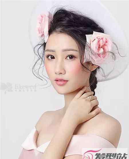 新娘发型设计图片 15款风格新娘发型 优雅浪漫美翻天