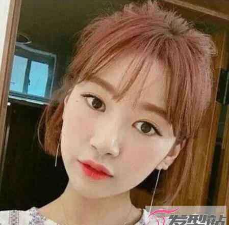 韩式发型图片 女生适合剪的短发发型 韩式短发打造小清新范