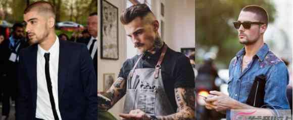 欧美男士短发发型 最流行欧美男发型短发 简单俐落激短发型成为趋势