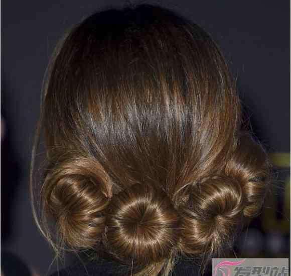 头发造型设计 女士参加派对宴会气质发型 简单易学10分钟就能做出好造型