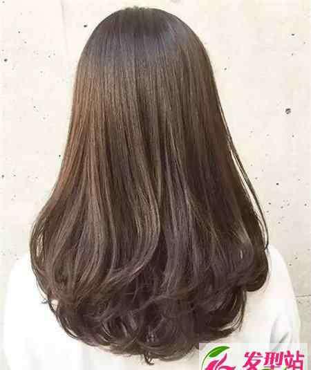 内扣发型图片 中长发内扣发型 韩式内扣发型图片