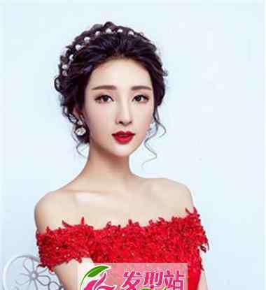 新娘旗袍发型图片 复古新娘旗袍造型 演绎浪漫幸福女人味