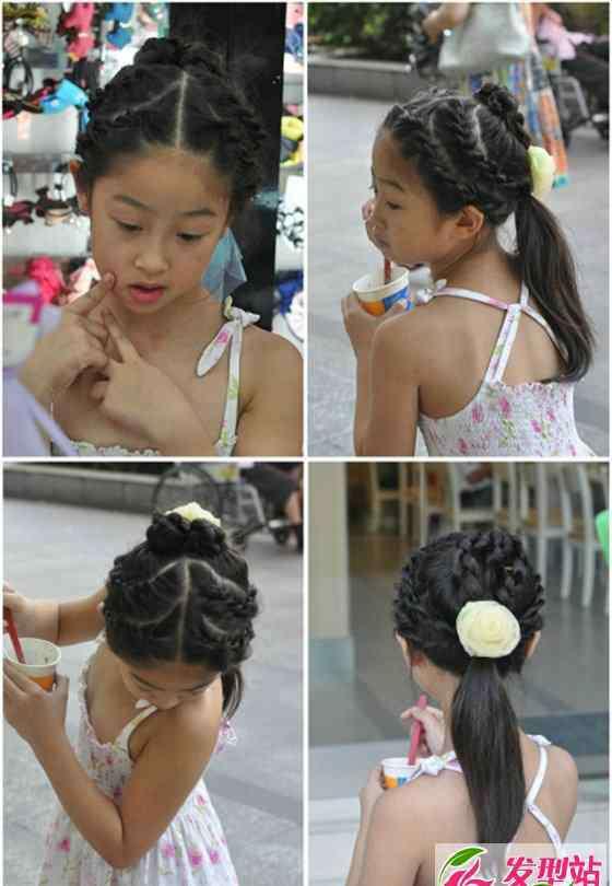 小女孩儿的各种编发 适合女孩的各种编发大全 汇集小女孩最爱的编发发型