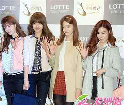 韩国少女组合图片 韩国人气组合少女时代时尚发型盘点