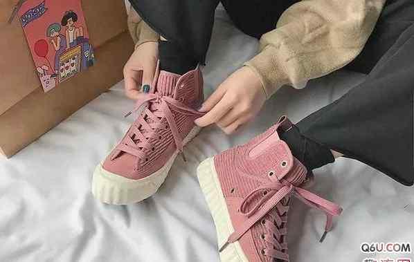 高帮帆布鞋鞋带系法 板鞋鞋带如何系 板鞋鞋带系法推荐