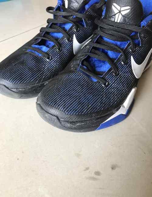 黑曼巴科比 科比黑曼巴ZK7实战测评 Nike Zoom Kobe 7上脚测评
