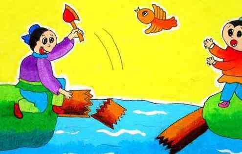 渗成语 儿童成长必读成语故事-过河拆桥