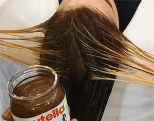 巧克力色 巧克力发色了不起啊?我用巧克力酱染发呢