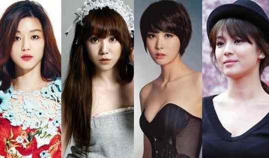 最美女星排行榜 韩国最美童颜女星排行榜 你的女神有在吗