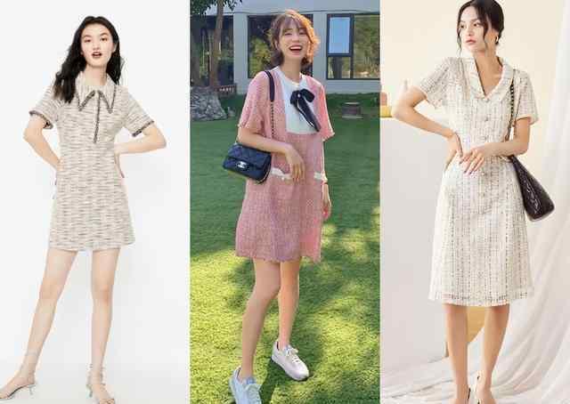 连衣长裙 超漂亮的连衣长裙款式图片