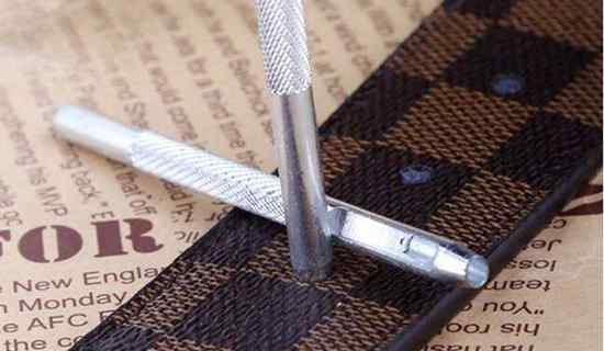 腰带打孔 腰带打孔器使用方法